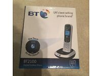 BT 2100 Single Cordless Phone- NEW in box