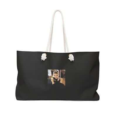Audrey Hepburn - Breakfast At Tiffanys Beach Weekender Bag