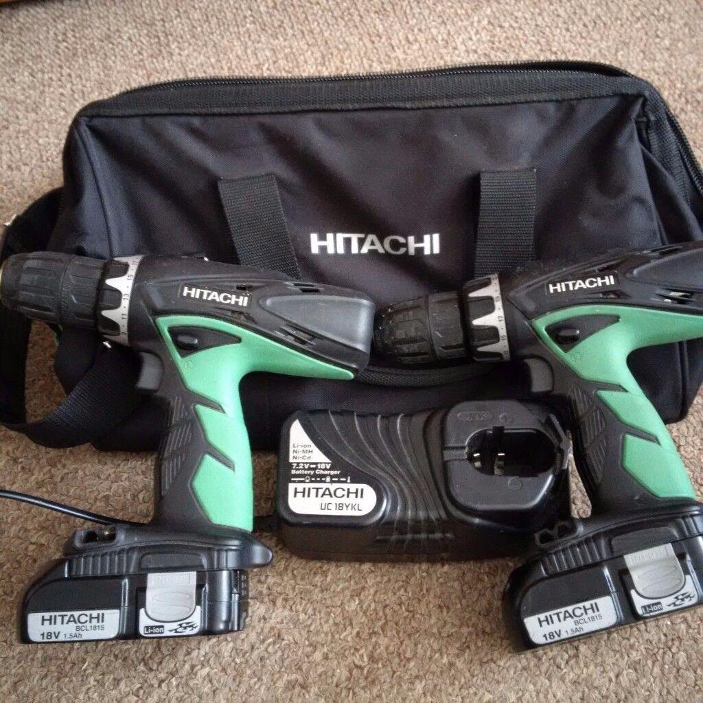 Hitachi 18v Combi drill Li-ion