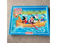 Mickey Mouse 100 piece jigsaw puzzle