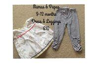 Baby girls clothing next Zara monsoon mamas & papas