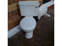 White toilet, fully working, very good condition £5