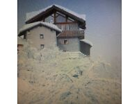 Ski Chalet In Les Arc region x12 people , available 24th - 31 March at discount price