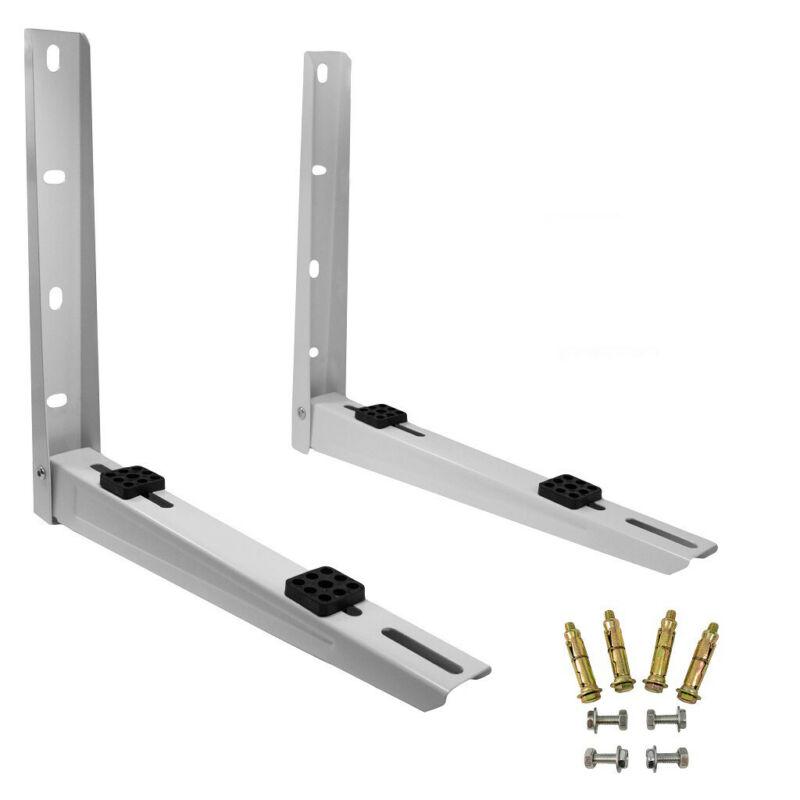 PIONEER Foldable Mounting Bracket for Mini Split Condensing Units, White