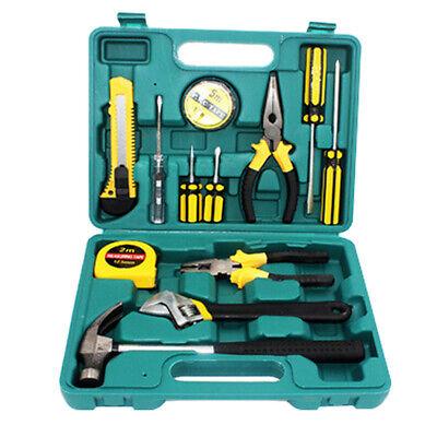 12pcs Home Repair Tool Set Mechanic Household Hand Tool Kit Wplastic Case