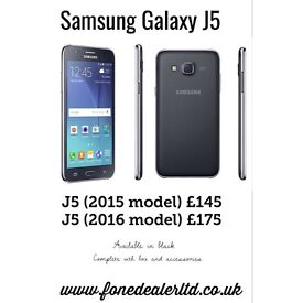 Samsung galaxy J5 (2016) boxed