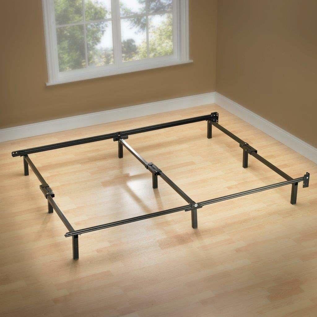 Platform Bed Frame Full Size Mattress Foundation Metal Base