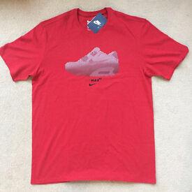Nike Athletic Cut Air Max 90 T-shirt - Size L