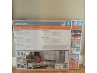 2x Lindam Single Metal Panel Baby Gate
