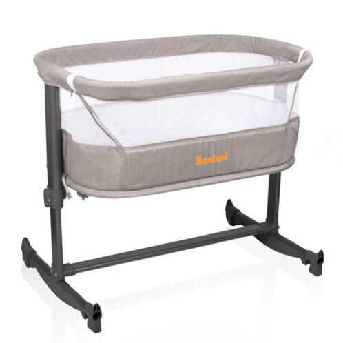 Baninni 2-in-1 Co-sleeper Nesso zandkleurig BNBT014-SD