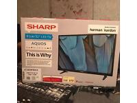 """SHARP 32"""" LCD TV BRAND NEW IN BOX"""