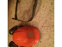 Husqvarna chainsaw / strimmer safety helmet