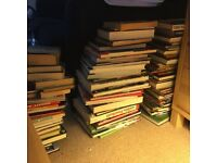 Large collection of football books