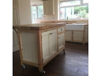 Kitchen island breakfast bar t&g shaker doors