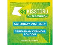 3 x kisstory on the common tickets
