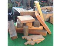 Assorted hardwoods