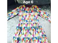 Oilily Dress & Socks Set Age 6