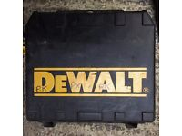 Dewalt drill driver DC725 18v drill driver - spares or repairs