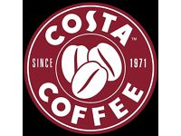 RECRUITING NOW: ASSISTANT MANAGERS for Costa Coffee Stores in Edinburgh