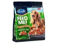 HiLife Feed Me! Something Special With Chicken & Lamb Moist & Meaty Dog Food 1.6kg (in 2pks of 800g)