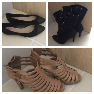 3 x pairs women's shoes - size 5 Willoughby Willoughby Area Preview