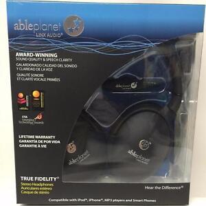 Able Planet True Fidelity PS400B - On-Ear Stereo Headphones