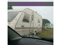 Land for touring caravan