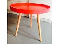Gorgeous M&S red coffee table / side table