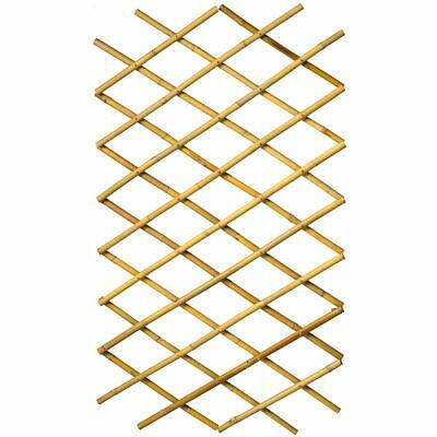 Nature Garden Trellis 100x200cm Bamboo Expanding Fence Panel Pergolas 6040722