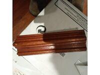 3 inch solid mahogany Taurus dado rail