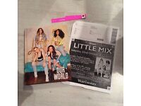 Little mix signed book our world