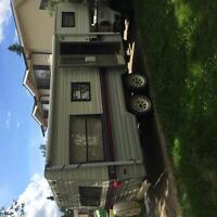 1990 Terry Resort 21.5 ft fifth wheel with hitch
