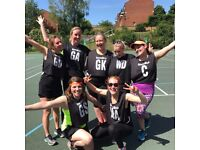 Social Netball Leagues - Recreational, Intermediate and Competitive