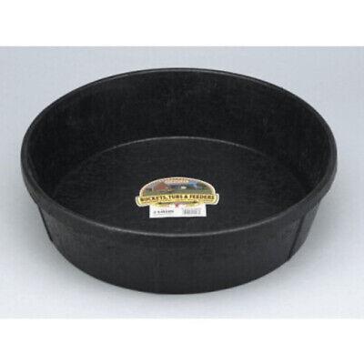 Miller Feed Pan Rubber 3 Gallon Pet Livestock Crack Crush Freeze Proof