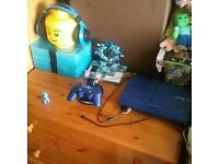 limited edition blue ps3 . 500gb .
