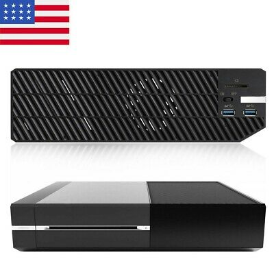 For Xbox One HDD Adapter External Memory Data Bank Enclosure USB w/ Cooling Fan