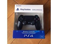 Official Sony Playstation 4 Dualshock 4 Black V2 Controller NEW & SEALED PS4 Gamepad Latest Version