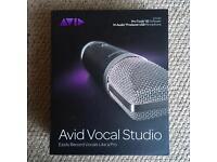 Avid Vocal Studio with ProTools SE