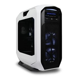 Ultimate win10 Gaming PC Rig SCAN EXS X99-s i7 5820K GTX 980 16GB DDR4 SSD 250GB 2TB HDD watercooled