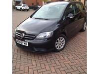 2005 GOLF PLUS 1.6 HPI clear, low mileage 82000 & full service history with stamps