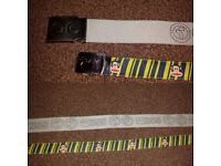 2 MENS BELTS .. 45 & 49 INCHES