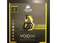 Corsair Void RGB Wireless Headset Special Edition - Black - Yellow