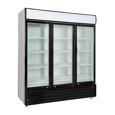Procool Commercial 3 Glass Door Merchandiser Upright Refrigerator - Display Cool