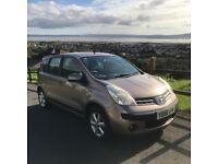 Nissan Note SE 5 Door Hatchback 1.4 Petrol Sahara Silver New MOT