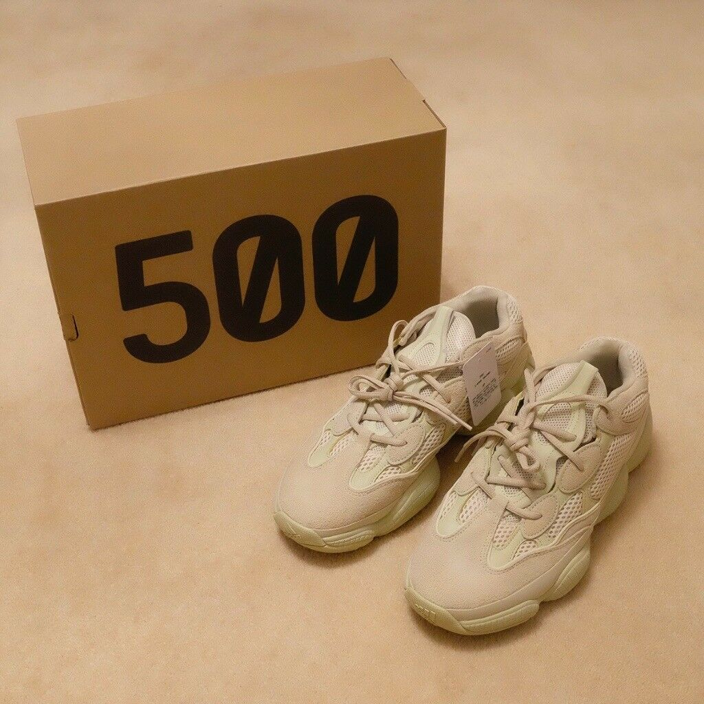 767f740b1d746 Adidas Yeezy 500 SUPER MOON YELLOW! UK9.5 brand new in hand NOT BLUSH