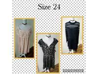New dresses size 24