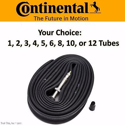 Continental Race 28 700x18-23-25 42mm Presta Road Bike Tube Multi-Pack Lot Bulk Road Race Motorcycle