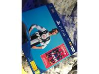 PS4 Jet black, with original box & games.