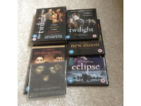 Boxed set Twilight DVDs
