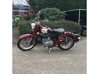 REDUCED for quick sale! 2014 - ONLY 159 miles. Amazing value. Royal Enfield 500 Bullet